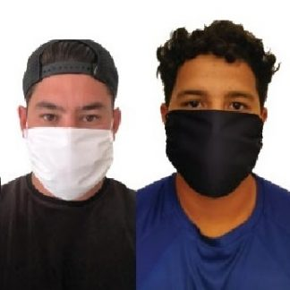 Unbranded Triple Layer Mask in white or black