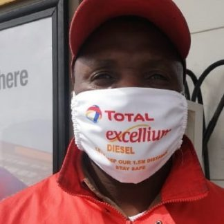 Branded 3 Layer Mask with Total branding