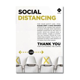 FREE to download Social Distancing Poster