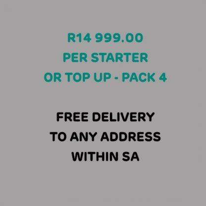 This PPE Executive Pack includes free delivery to any address within SA