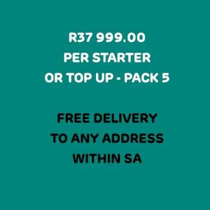Office PPE Pack 5 includes free courier delivery in South Africa