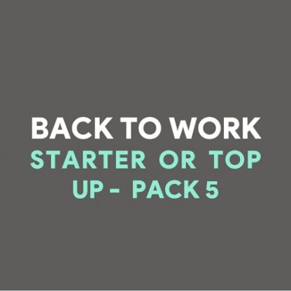 Back to Work Office PPE Supplies Pack 5