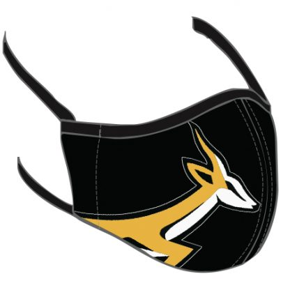 Image showing the Black Springbok Mask
