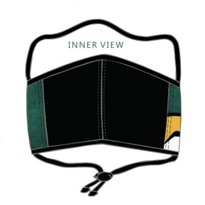 Inner view of the Bokke Face Mask